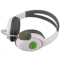 Fone De Ouvido Headset Com Microfone Para Xbox 360 - L003na