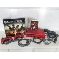 Xbox 360 Elite 120 Gb Raridade Ou Troco