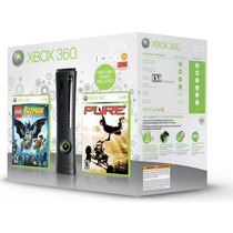 Xbox 360 Elite 120gb Na Caixa - Travado Semi Novo