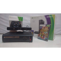 Xbox 360 + Kinect , Raramente Usado!