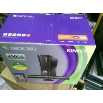 Console Xbox 360 4gb Super Slim Travado Original + 3 Jogos