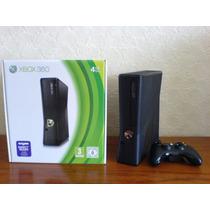 Xbox 360 Slim Novo Na Caixa4gb De Memória Interna Sem Kinect