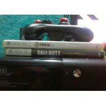 Xbox 360 Com 1 Controle E Kinect E 24 Jogos Em Bom Estado