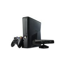 Xbox 360 Slim Bloqueado Com Kinect + Jogos