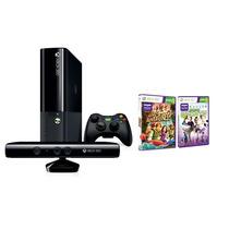 Xbox 360 4g + Kinect + 2 Jogos