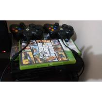 Quero Ofertas Xbox 360 Super Slim,2 Controles,varios Jogos.