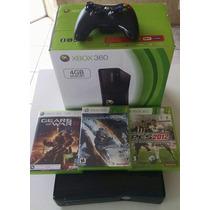 Xbox 360 Bloqueado Original + 3 Jogos + Hdmi - Semi Novo