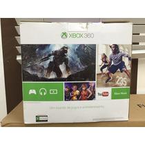 Xbox360 Kinect 250gb C/ 1 Controle + 1 Pes 2014 - Perfeito!
