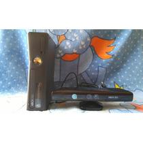 Xbox 360 250 Gb + Kinect + 2 Controles + Volante + 4 Jogos