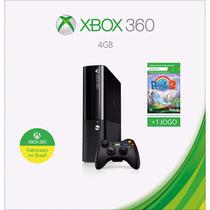 Xbox Microsoft 360 4gb Wifi + Peggle 2