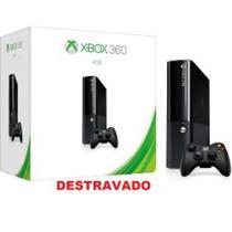 Xbox360 S.slim Dsblquead 4gb Rgh/jtag+3.0+10jogos