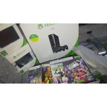 Xbox 360 500 Gb + Kinect + De 30 Jogos Originais