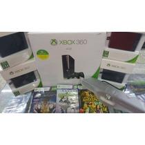 Xbox 360 500gb+kinect+25 Jogos Originais De Brinde.