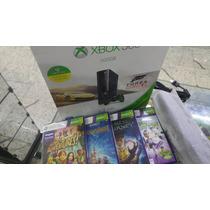 Xbox 360 500gb+kinect+20 Jogos Originais De Brinde