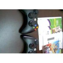 Xbox 360 Slim+2 Controles+kinect+ 2 Jogos+ Frete Gratis
