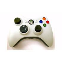 Controle Xbox 360 Microsoft Branco Sem Fio Wireless