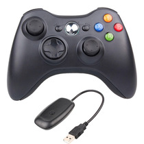 Joystick Xbox 360 + Receiver Controle Wireless Para Pc G18
