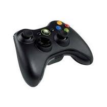 Controle Sem Fio Microsoft Xbox 360 Preto Ver Descrição