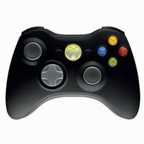 Controle Original Preto Wireless Sem Fio Xbox 360