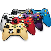 Controle Turbo Rapid - Fire - 30 Modos Crome Series Xbox360