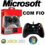 Controle Usb Pc / Xbox360 Microsoft ( Frete Grátis) Promoção