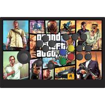 Controle Arcade Xbox 360 / Pc Com Analogico E Botões Nylon