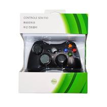 Controle Joystick Xbox 360 - Slim E Pc Windows Com Fio Usb