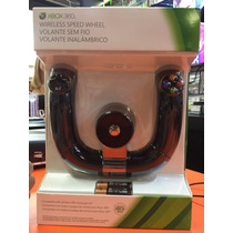 Volante Xbox 360 Wireless Speed Whell Original Lacrado