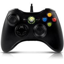 Controle Joystick Xbox 360 Pc Com Fio Original Microsoft
