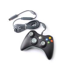 Controle Com Fio Usb Modelo Slim Xbox 360 - Novo