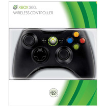 Controle Wireless Xbox 360 Microsoft Preto - Original Box