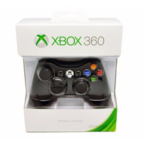 Controloe Xbox 360 Wireless Preto Original
