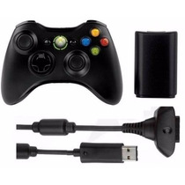 Controle Xbox Original Wireless Microsoft+ Bateria + Capa