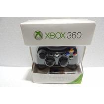 Controle Xbox 360 Microsoft Sem Fio Novo Na Caixa