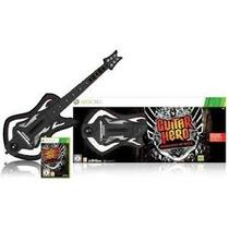 Guitarra + Jogo Guitar Hero Warriors Of Rock Xbox 360