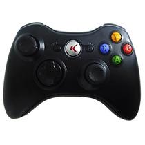Controle C/ Fio Xbox 360 Pc Slim Joystick Original Knup Usb