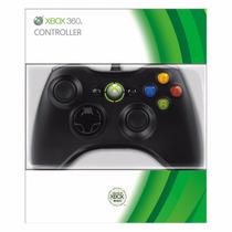 Controle Xbox 360 Original Branco Microsoft Sem Fio