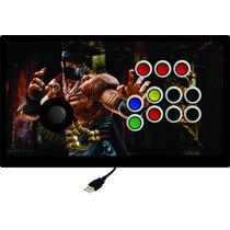 Controle Arcade Xbox 360/ One/ Ps3/ Ps4/ Pc Sem Analógico