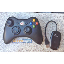 Controle Joystick Para Xbox 360 Manete Sem Fio Wireless Usb