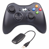 Controle Xbox 360 Pc Sem Fio Receiver Barato Entrega Rápida