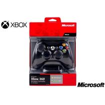 Controle Xbox 360 S Fio Wireless Original Receiver Usb P/ Pc