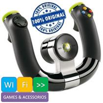 Volante Wireless Speed Wheel Sem Fio Xbox 360 Original