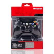 Controle Xbox 360 Wireless Sem Fio Original +receptor Usb Pc