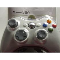 Controle Joystick Branco Xbox 360 E Pc Com Fio
