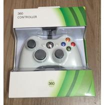 Controle Sem Fio Xbox Branco 10 Mil Mha