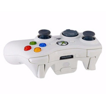 Controle Xbox 360 Original Branco Microsoft Sem Fio Wireless