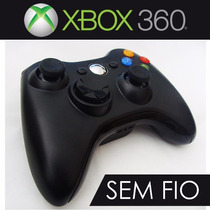 Controle Para Video Game Xbox 360 Wireless Sem Fio Fier
