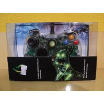 Controle Xbox Para 360 E Pc Com Fio Tarnsparente -novo