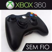 Controle P/game Xbox 360 Sem Fio Wireless Novo