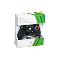 Controle Xbox 360 Original Sem Fio Preto